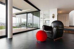 Beautiful interior of a modern villa Royalty Free Stock Photos
