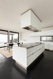 Beautiful interior of a modern villa Stock Photos