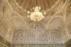 Beautiful interior of the Mosque of the Barber Royalty Free Stock Photography