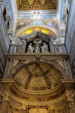 Beautiful interior of the Pisa Cathedral (Duomo di Pisa) on Piazza del Duomo, Italy Royalty Free Stock Photo