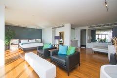 Beautiful interior in private villa Stock Photos