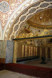 Beautiful interior Topkapi. Inside the Topkapi palace in Istanbul Stock Images