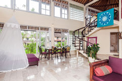 Beautiful Interior Villa royalty free stock photography