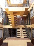 Beautiful internal architecture royalty free stock photography