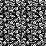 Beautiful intricate retro seamless floral pattern Royalty Free Stock Images