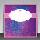 Beautiful invitation card Royalty Free Stock Image