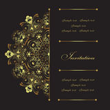 Invitation Stock Photography