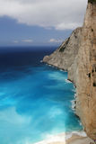 Beautiful Ionian Sea, Zakynthos Greece Royalty Free Stock Images