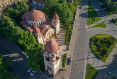 Beautiful Iosefin Orthodox Church in Timisoara, Romania Stock Photography