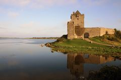 Beautiful Irish castle stock image