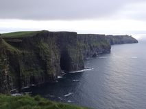 Beautiful irish Cliffs of Moher. Near Doolin stock image