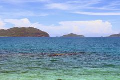 THE BEAUTIFUL ISLA GIGANTES WITH TURQUOISE WATERS Stock Photography