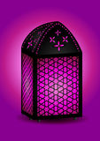 Beautiful islamic lantern Royalty Free Stock Images