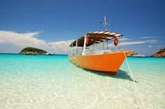 Beautiful island Stock Photography