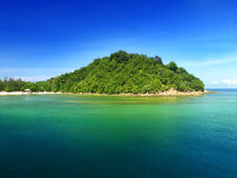 Beautiful island. This is one of the Island in North Borneo, Sabah Stock Photos