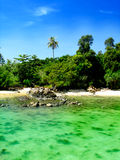 Beautiful island. This is one of the Island in North Borneo, Sabah Royalty Free Stock Photo