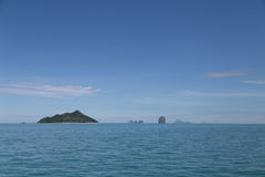 Beautiful Island at Andaman Sea of Thailand Stock Image