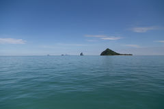 Beautiful Island at Andaman Sea of Thailand Stock Images