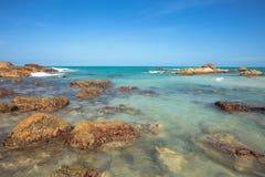 Beautiful island beach. Samui island Thailand Royalty Free Stock Photography