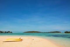 Beautiful island beach. Of Thailand Stock Image