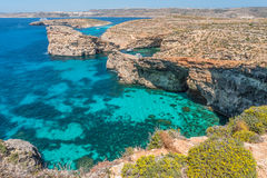 The beautiful island of Comino, Malta Stock Photography