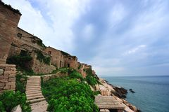 The beauty of the island. Beautiful island in eastern China, the island scenery is beautiful, rich in products Stock Image