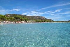 Beautiful island and exotic tropical beach in caribbean sea . Stock Photos
