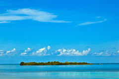 Beautiful island in the Florida keys Stock Image