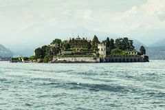 Beautiful island. Isola Bella (The beautiful island) on Lago Maggiore (Great Lake) in the north of Italy. It features beautiful hanging gardens and terraces Royalty Free Stock Photo