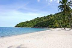 Beautiful Island khanom bay Stock Images