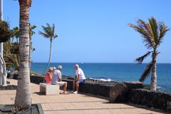 Lanzarote on the Canaries royalty free stock images