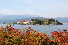Beautiful island near Stresa Royalty Free Stock Images