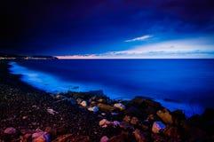 Beautiful Island Night Scenery Royalty Free Stock Photo