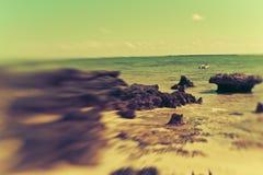 Beautiful Island Paradise Stock Photography