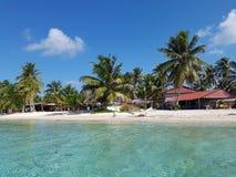 Beautiful island of San Blas, Panama Royalty Free Stock Image