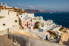 Beautiful island Santorini Stock Photography