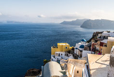 Beautiful island Santorini Royalty Free Stock Photos
