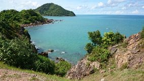 Beautiful Island. In sunny day on Thailand Royalty Free Stock Photos