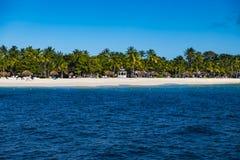 Beautiful beach of Palm Island, The Grendadines Resort and Spa, Grenadines, Stock Photography