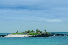 Beautiful islet in the galapagos islands Stock Photos