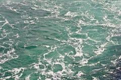 Beautiful isolated photo of the water near amazing Niagara falls Stock Photo
