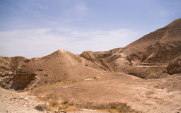 Beautiful Israel desert Royalty Free Stock Photography