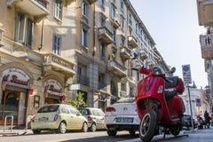 Beautiful Italian Apartment Exteriors Old Building Living Lifest Stock Photos