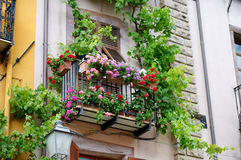 Beautiful italian balcony Royalty Free Stock Photography