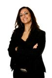 Beautiful Italian businesswoma Royalty Free Stock Photography
