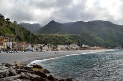 A beautiful italian fishing village stock photography