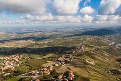 Beautiful Italian Landscape Royalty Free Stock Photo