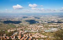 Beautiful Italian Landscape Stock Image