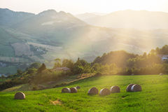 Beautiful Italian landscape Stock Photography