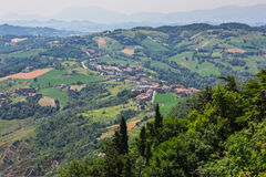 Beautiful Italian landscape Royalty Free Stock Photography